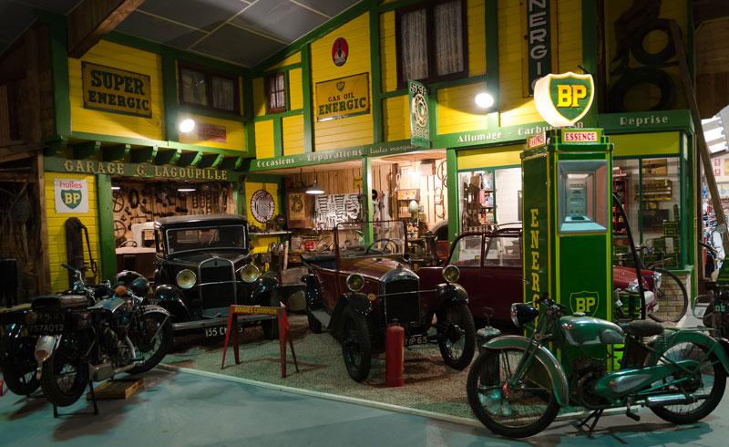 Mus e de la moto mus e baster for Ouvrir son garage moto